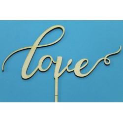 Заготовка для декупажа Топпер Love