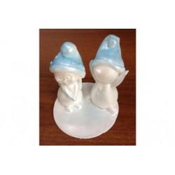 3D Снеговичок-мальчик