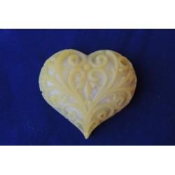 Форма 3D Сердечко ажурное