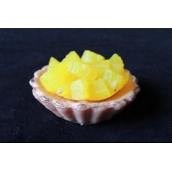 Форма 3D Пирожное с ананасами
