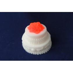 Форма 3D Тортик с розочками