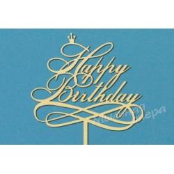 Заготовка для декупажа Топпер Happy Birthday 2, размеры 20х29 см