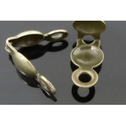 Держатель для узелка, цвет бронза, диаметр 5 мм
