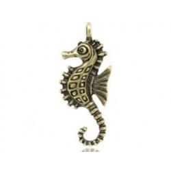 Подвеска Морской конёк, бронза