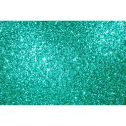 Глиттерный фоамиран зелёный