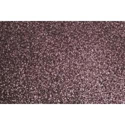 Глиттерный фоамиран коричневый