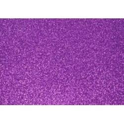 Глиттерный фоамиран лиловый