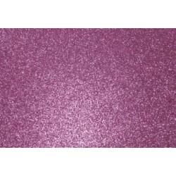 Глиттерный фоамиран розовый