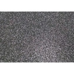 Глиттерный фоамиран чёрный