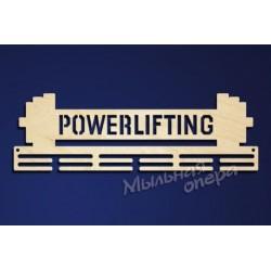 Заготовка для декупажа Медальница Powerlifting