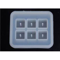 Молд силиконовый Бусины куб