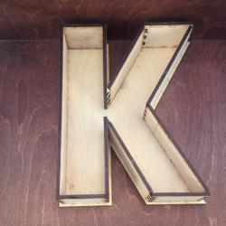 Короб буква К