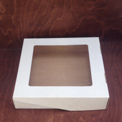 Упаковка Коробочка с окошком квадратная