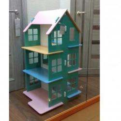 Домик для кукол, размеры 50*50*90 см