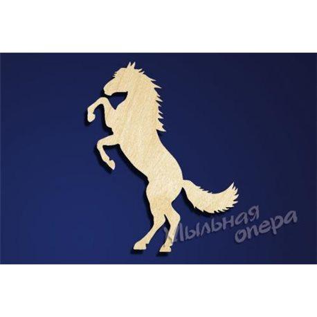 Заготовка для декупажа Бирка Лошадь 3