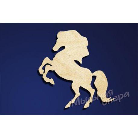 Заготовка для декупажа Бирка Лошадь 5