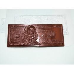 Форма для шоколада 100 долларов