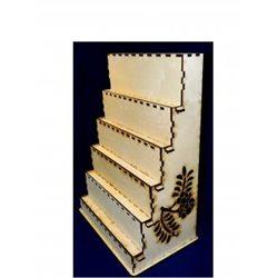 Заготовка для декупажа Полка 6 ярусов, размеры 26х42х57 см