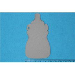Заготовка для скрапбукинга Альбом Детская бутылочка, размеры 10х18 см, 5 листов