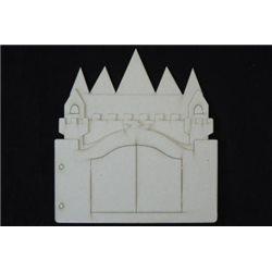 Заготовка для скрапбукинга Альбом Замок, размеры 20х22 см, 10 листов