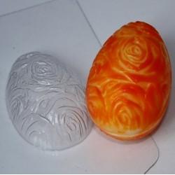 Форма ПВХ Яйцо фактура роз