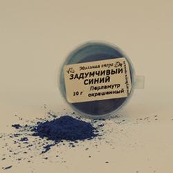 Перламутр Задумчивый синий