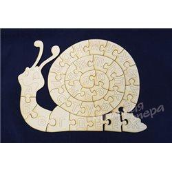 Азбука-раскраска Улитка, паззлы