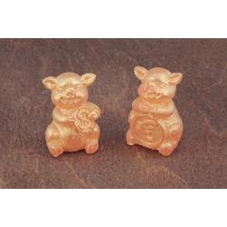 Форма 3D Свинки с монетами