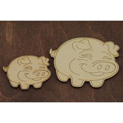 Бирка Свинка 1