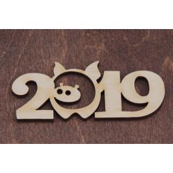 Бирка 2019 - Год Свиньи