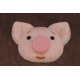 3D форма Свинка вязаная