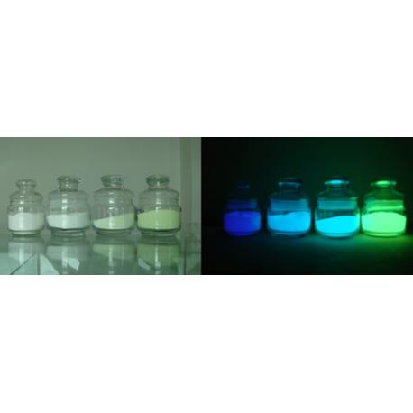 Фотолюминисцентный пигмент бирюзовый