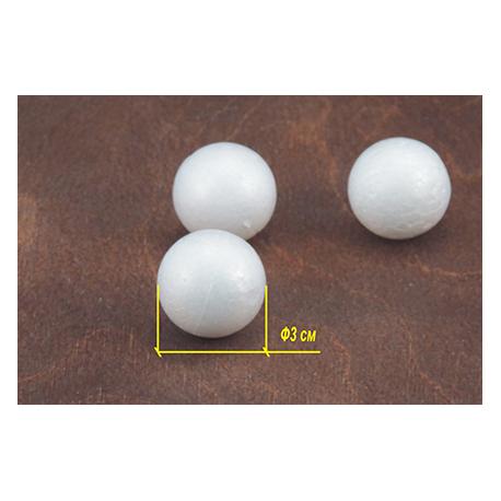 Пенопласт Шар 3 см