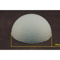Пенопласт Полусфера 15 см