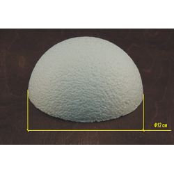 Пенопласт Полусфера 12 см
