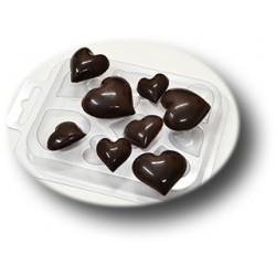 Форма для шоколада Шоко-сердечки