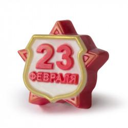 Форма ПВХ 23 февраля Звезда