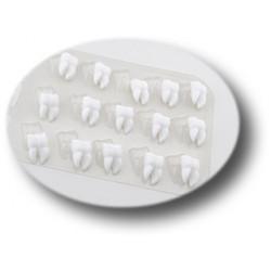 Форма для шоколада Зубки