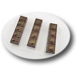 Форма для шоколада Батончики военные