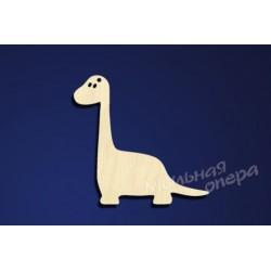 Заготовка для декупажа Бирка Динозаврик 2