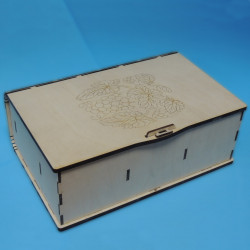 Коробка сувенирная под бутылку