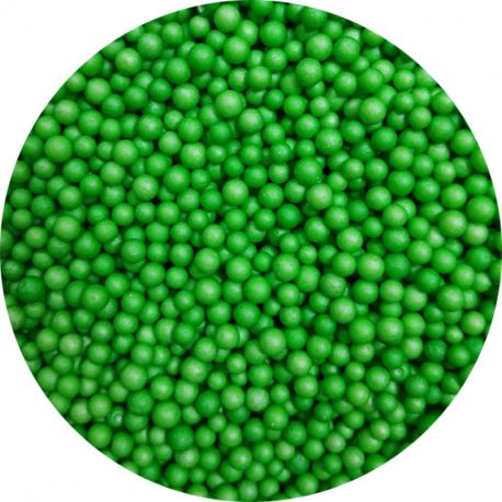 Пенопластовые шарики зеленые