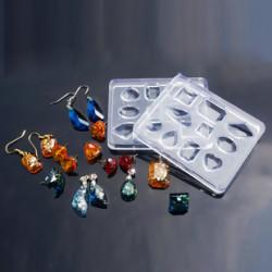 Молд силиконовый Ассорти кристаллы