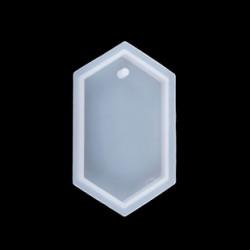 Молд силиконовый Медальон шестиугольный