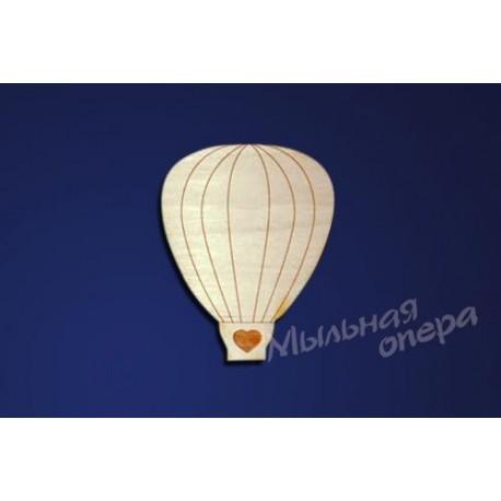 Заготовки для декупажа Бирка Воздушный шар