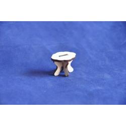 Кукольная мебель Petite Пуфик 2,5х3х2,5 см
