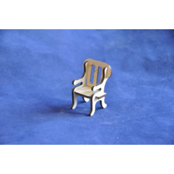 Кукольная мебель Petite Кресло 5,5х4х3,5 см