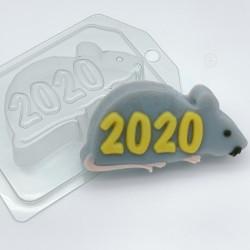 2020 На силуэте крысы