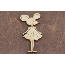 Бирка Мышь 16
