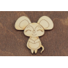 Бирка Мышь 17